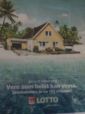 Drömvinsten Reklam