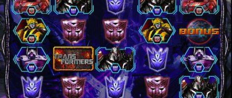 Transformers videoslot