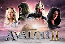 Avalon II videoslot Microgaming