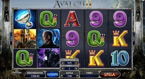Avalon II videoslot