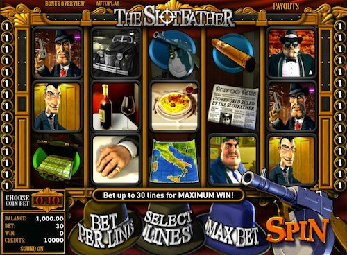 The Slotfather videoslot