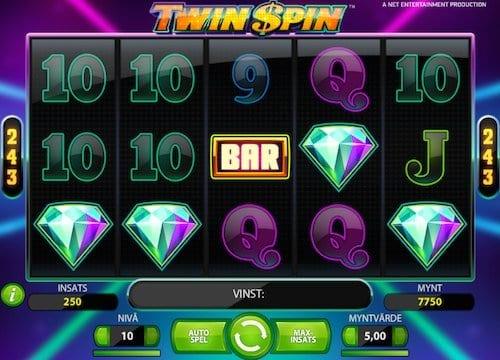 Twin Spin videoslot