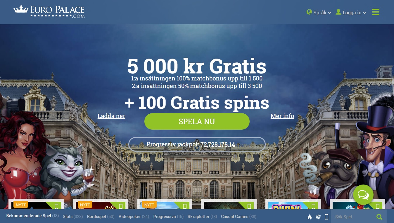EuroPalace Bonus Codes Claim your June Bonuses