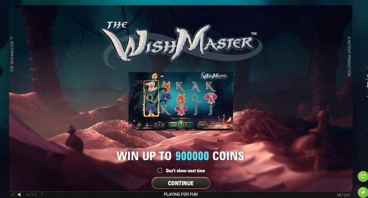 Wish-master-slot