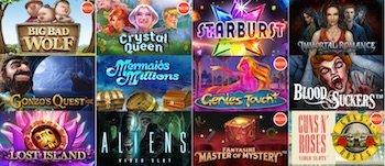 Casino-x spelutbud