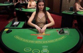 Live casino Caribbean Stud Poker