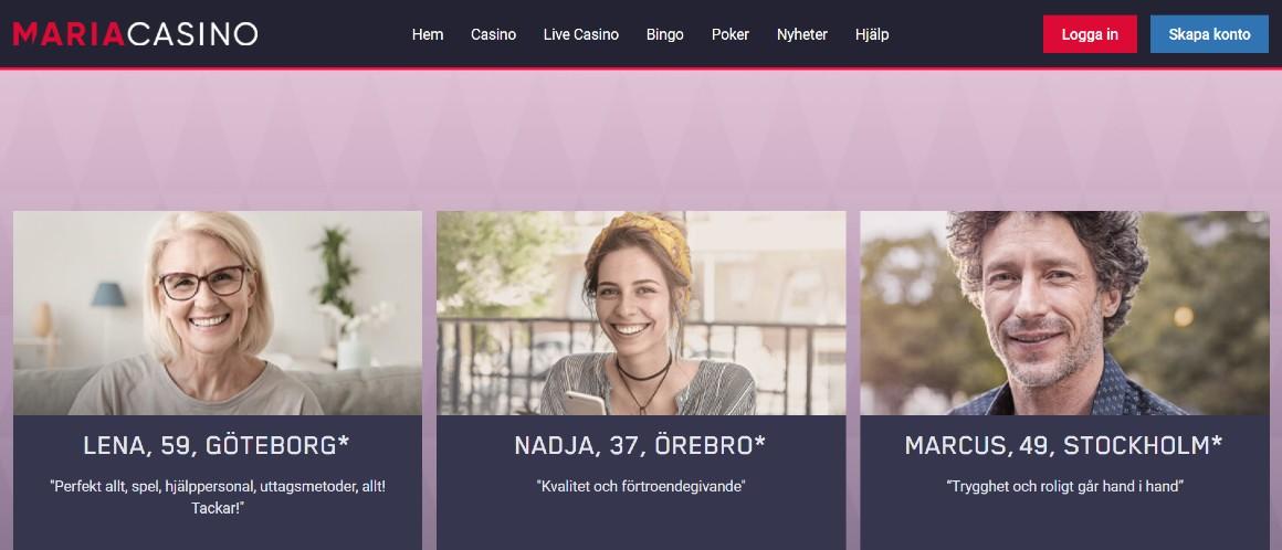 Maria casino hemsida