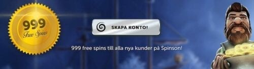 spinson casino kampanjer