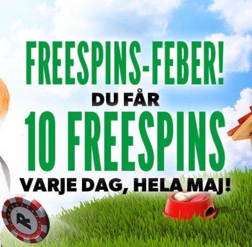 Freespins-feber reklam