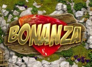 Logo för Bonanza slot