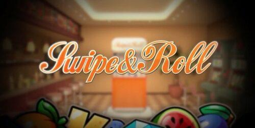 Intro till spelet Swipe & Roll från NetEnt