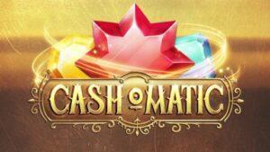 Intro för Cashomatic slot