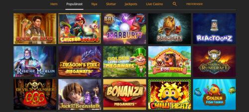 snabbis-slots-spel-utbud