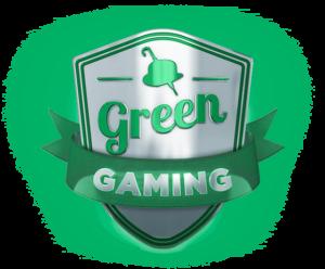 Logo för Green Gaming hos Mr Green