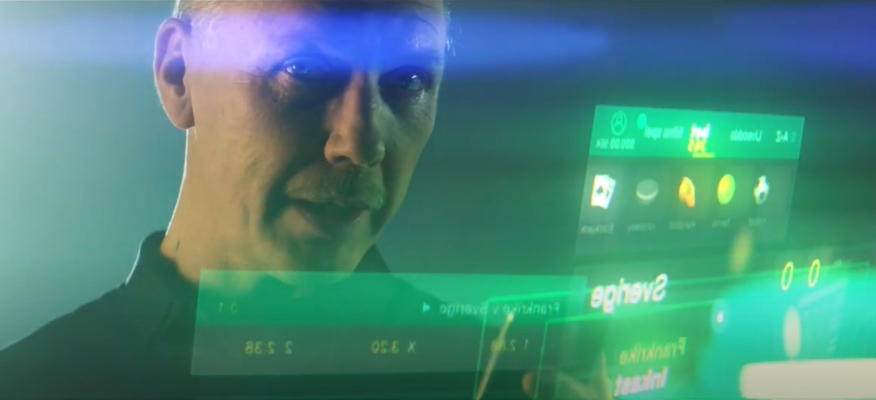 Skådespelaren Mikael Persbrandt medverkar i en reklamfilm för Bet365 casino med fokus på sport och betting