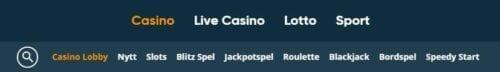 meny speedyspel casino
