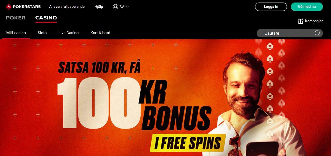 Pokerstars casino hemsida