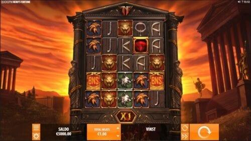 Neros Fortune spelplan