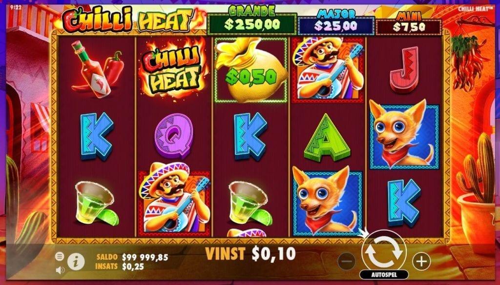 chilli heat casino slot