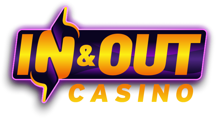 inandout casino logo on transparent background