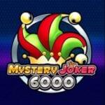 Logo för klassiska spelautomaten Mystery Joker 6000