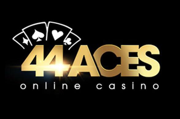 Logo för 44Aces casino