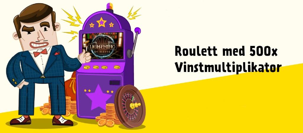 Tecknad karaktär hos Kassu casino med roulette-spel