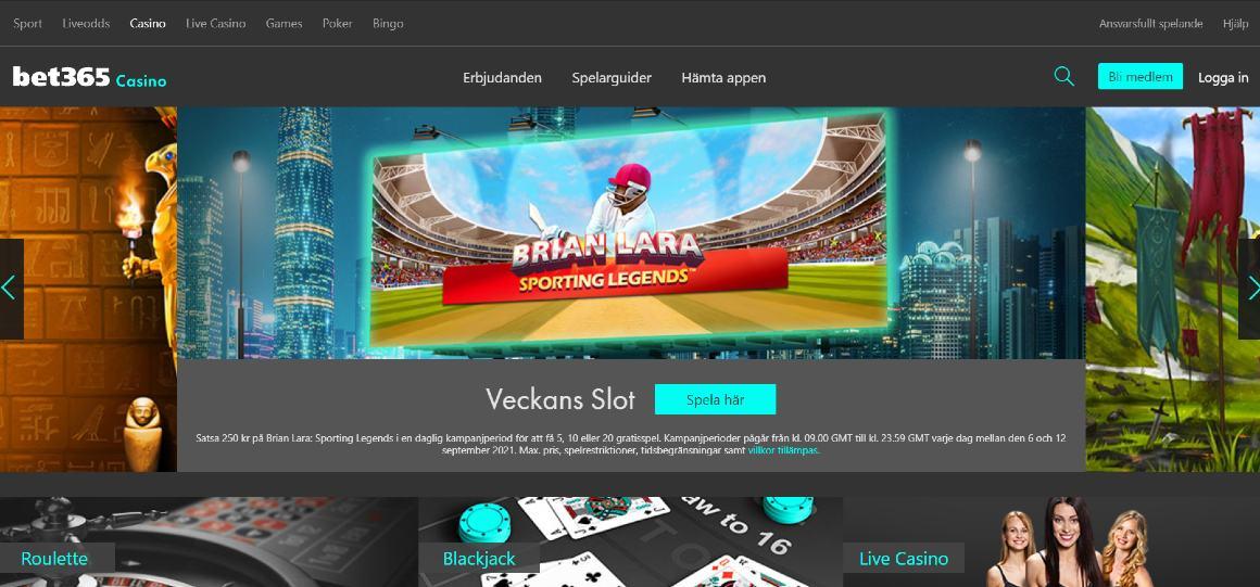 Bet365 casino hemsida