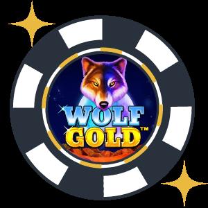 Skraplottspelet Wolf Gold