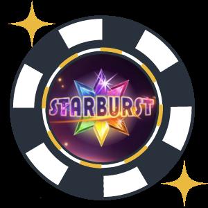 Videoslot spelet Starburst