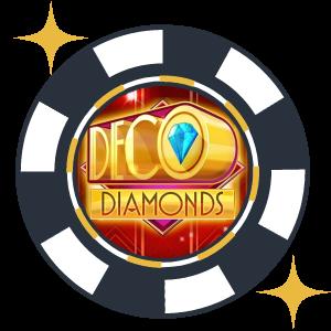 Klassiska spelautomaten Deco Diamonds