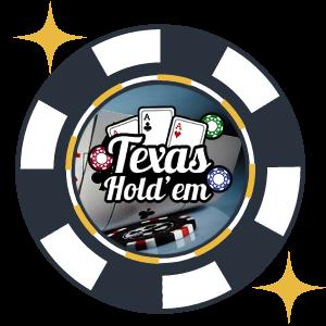 Texas Hold'em Pokerspel hos casino online
