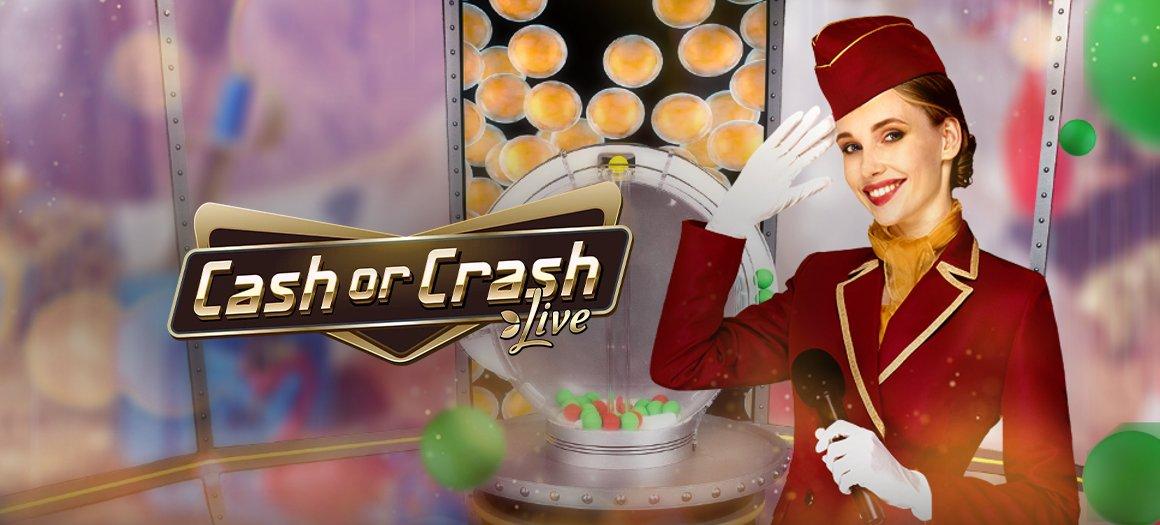 Cash or Crash live från Evolution Gaming