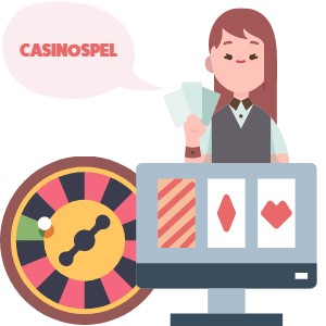 Casinospela på nätet med live dealer