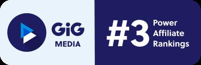 GiG Media rankad nummer 3 på EGR Power Affiliates Awards 2021