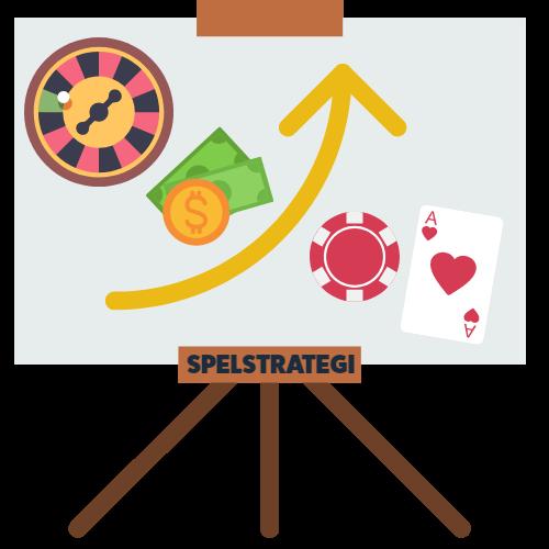 Spelstrategi för att öka vinster hos casinon på nätet