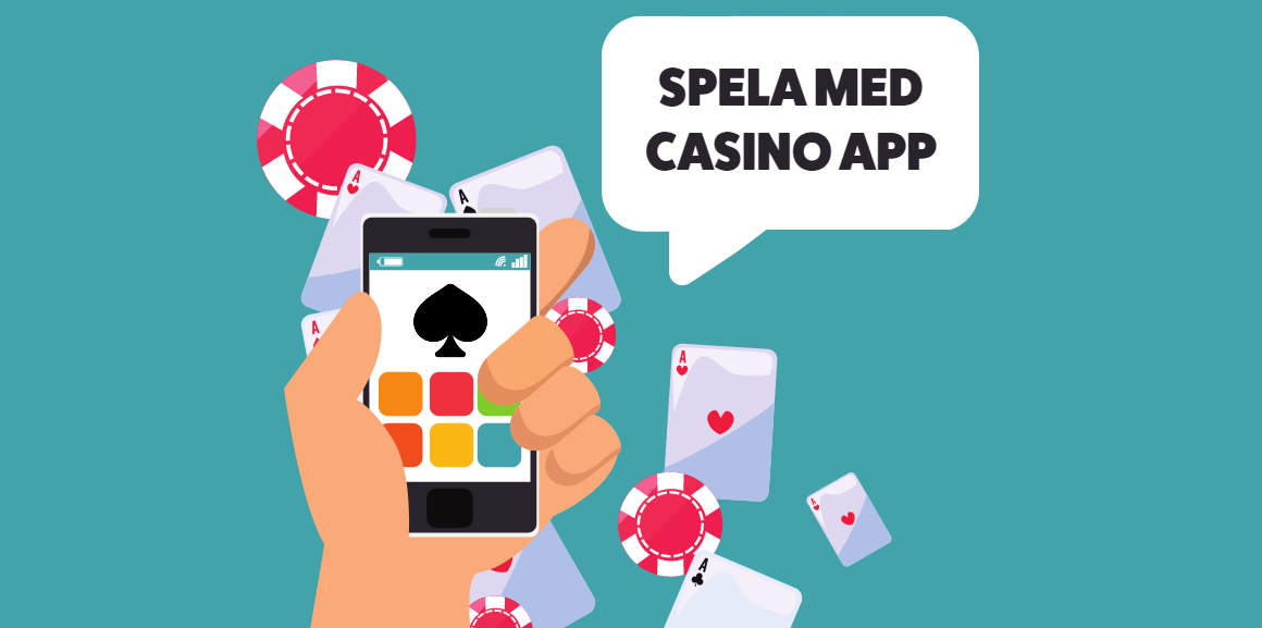 Spela med casino app
